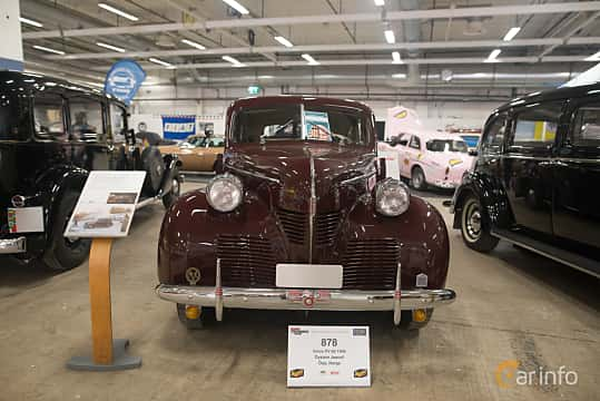 Front  of Volvo PV60 3.7 Manual, 90ps, 1946 at Bilsport Performance & Custom Motor Show 2018