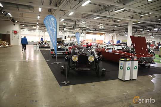 Front  of Lagonda Rapier Sports Tourer 1.1 Preselector, 51ps, 1935 at Bilsport Performance & Custom Motor Show 2019