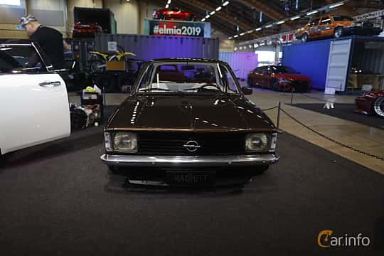 Front  of Opel Kadett Coupé 1979 at Bilsport Performance & Custom Motor Show 2019