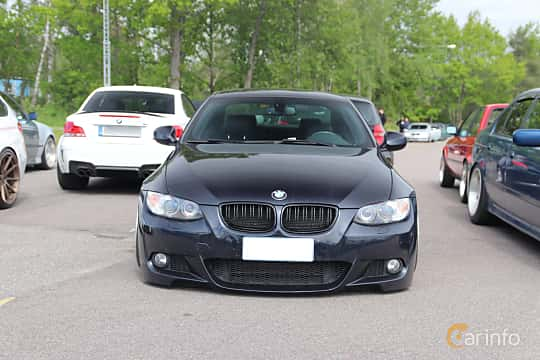 Front  of BMW 3 Series Coupé 2007 at Bimmers of Sweden @ Mantorp 2019