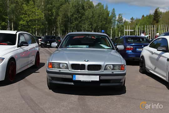 Front  of BMW 7 Series 1994 at Bimmers of Sweden @ Mantorp 2019