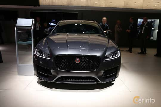 Front  of Jaguar XF 20d Sportbrake AWD  Automatic, 180ps, 2020 at IAA 2019