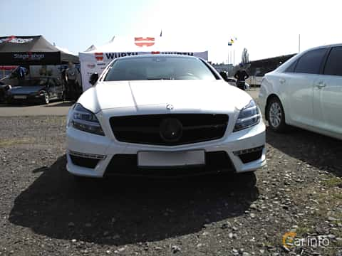Front  of Mercedes-Benz CLS 63 AMG S 4MATIC 5.5 V8 4MATIC , 585ps, 2013 at Ltava Time Attack 1st Stage