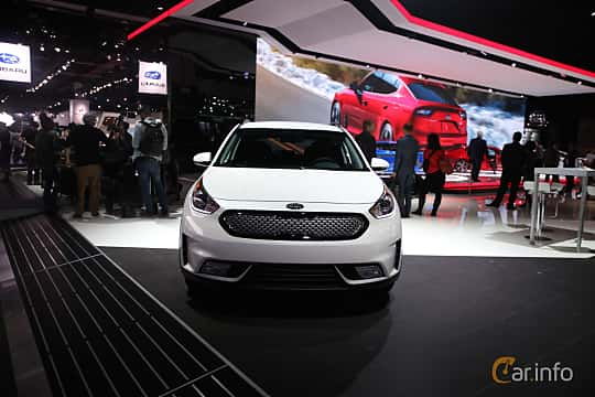 Front  of Kia Niro 1.6 DCT, 146ps, 2017 at North American International Auto Show 2017