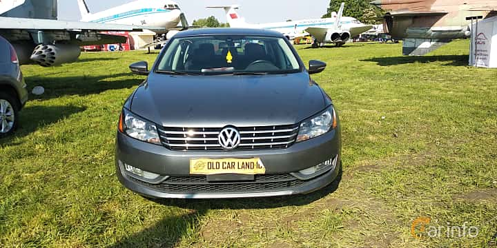 Front  of Volkswagen Passat NMS 2012 at Old Car Land no.1 2019