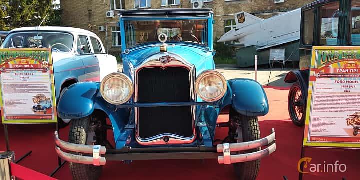 Front  of Buick Model 24-Four-50 Sedan 4.0 Manual, 71ps, 1924 at Old Car Land no.1 2019