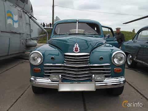 Front  of GAZ GAZ-M-20 2.1 Manual, 50ps, 1948 at Old Car Land no.2 2017