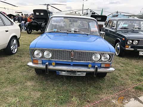 Front  of VAZ 2103 1.5 Manual, 75ps, 1975 at Old Car Land no.2 2019