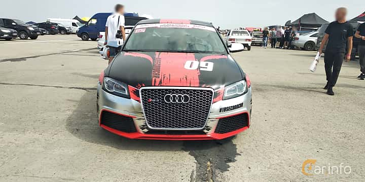 Front  of Audi RS 3 Sportback 2.5 TFSI quattro S Tronic, 340ps, 2011 at Proudrs Drag racing Poltava 2019