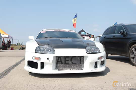 Front  of Toyota Supra 1993 at Proudrs Drag racing Poltava 2019