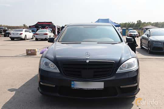 Front  of Mercedes-Benz S 500 L 4MATIC  7G-Tronic, 388ps, 2008 at Proudrs Drag racing Poltava 2019