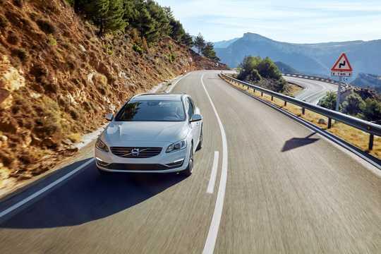 Fram/Sida av Volvo V60 2nd Generation