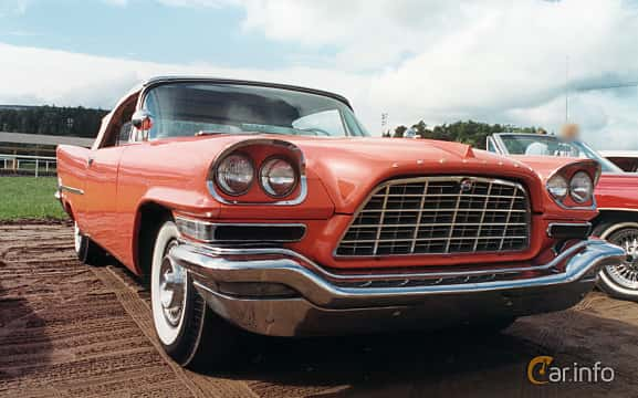 Front/Side of Chrysler 300 Convertible 6.4 V8 Automatic, 396ps, 1957