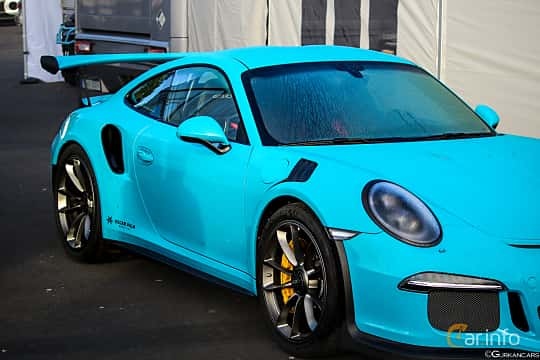 Front/Side  of Porsche 911 GT3 RS 4.0 H6 500ps, 2016