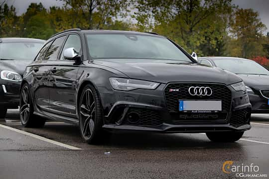 Front/Side of Audi RS 6 Avant 4.0 TFSI V8 quattro TipTronic, 560ps, 2013