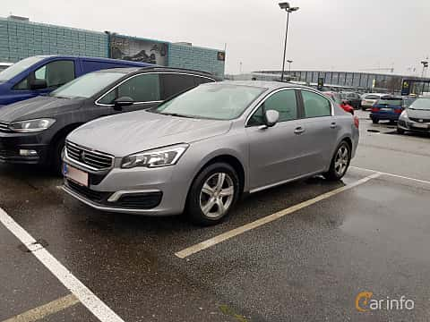 Front/Side  of Peugeot 508 2.0 HDi FAP Manual, 150ps, 2016