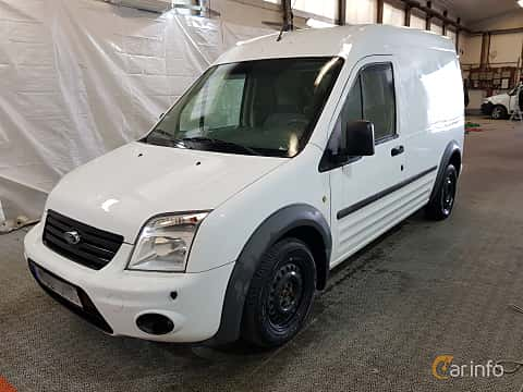 Front/Side  of Ford Transit Connect LWB 1.8 TDCi Manual, 90ps, 2012