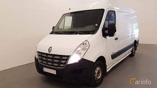 Front/Side  of Renault Master 2.3 dCi Manual, 125ps, 2011