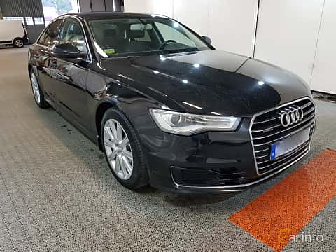 Front/Side  of Audi A6 Sedan 3.0 TDI V6 clean diesel quattro S Tronic, 218ps, 2016