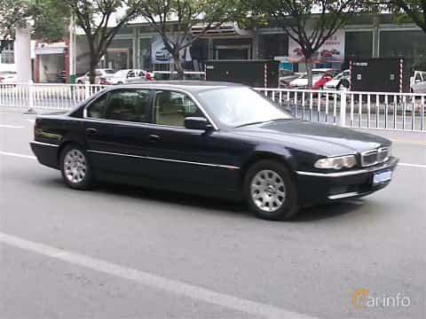 Front/Side  of BMW 7 Series LWB 1999