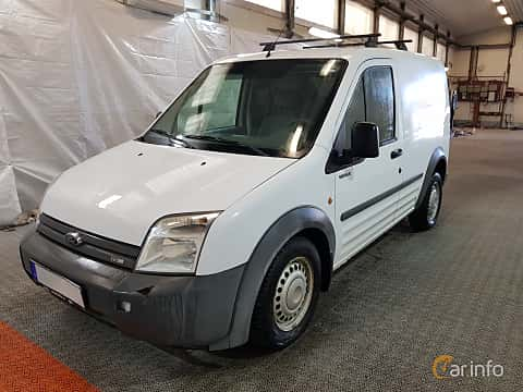Front/Side  of Ford Transit Connect SWB 1.8 TDDi Manual, 75ps, 2008