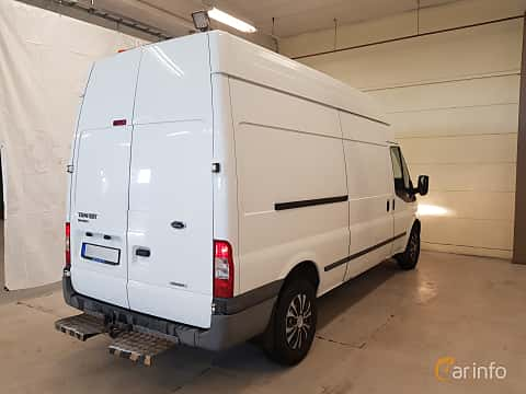 Front/Side  of Ford Transit 3-door Van 2.2 TDCi Manual, 140ps, 2013