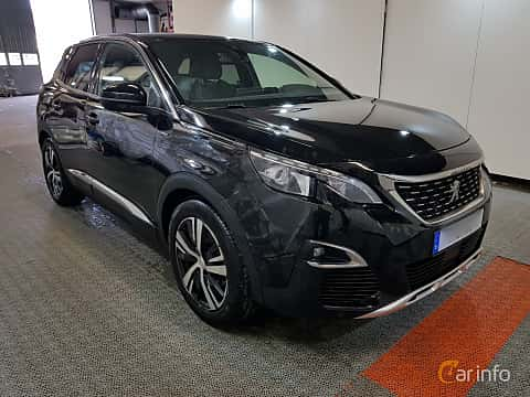 Front/Side  of Peugeot 3008 1.6 THP EAT, 165ps, 2017