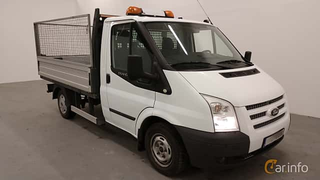 Front/Side of Ford Transit Chassis Cab 2.2 TDCi Manual, 101ps, 2013