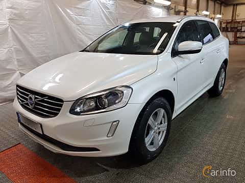 Front/Side  of Volvo XC60 D4 Geartronic, 190ps, 2016