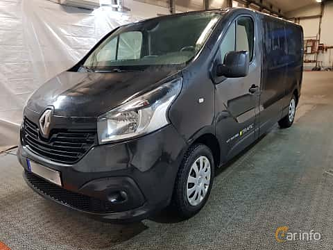 Front/Side  of Renault Trafic Van 1.6 dCi Manual, 120ps, 2016
