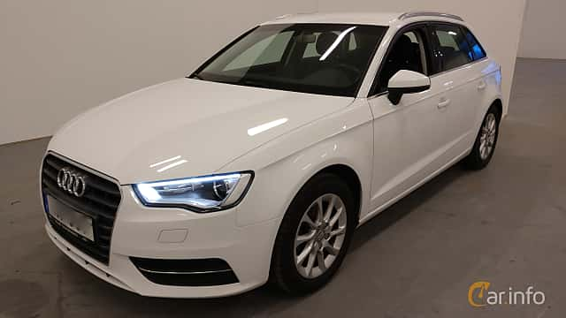 Front/Side  of Audi A3 Sportback 2.0 TDI S Tronic, 150ps, 2016