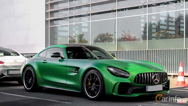 Front/Side  of Mercedes-Benz AMG GT R  AMG Speedshift DCT, 585ps, 2017