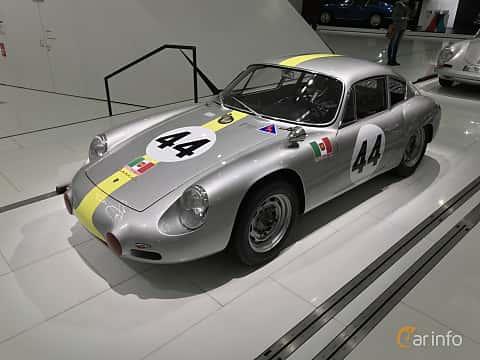 Fram/Sida av Porsche 356 Carrera GTL Abarth 1.6 Manual, 115ps, 1960