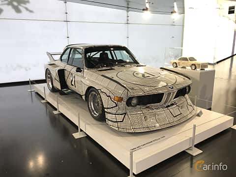 Fram/Sida av BMW 3.0 CSL Group 5  Manual, 487ps, 1976