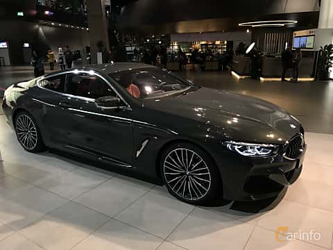 Front/Side  of BMW 840d xDrive  Steptronic, 320ps, 2019