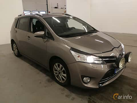 Front/Side  of Toyota Verso 1.6 Manual, 111ps, 2015