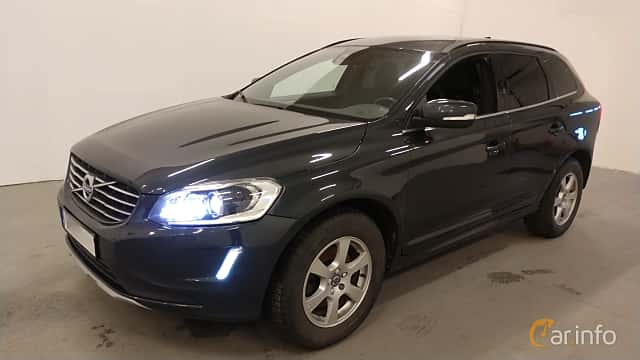 Front/Side  of Volvo XC60 D4 AWD Manual, 190ps, 2016
