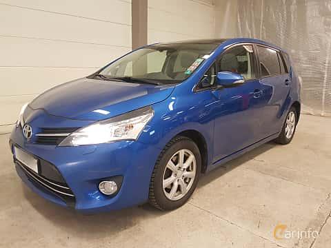 Fram/Sida av Toyota Verso 1.8  Multidrive S, 147ps, 2015