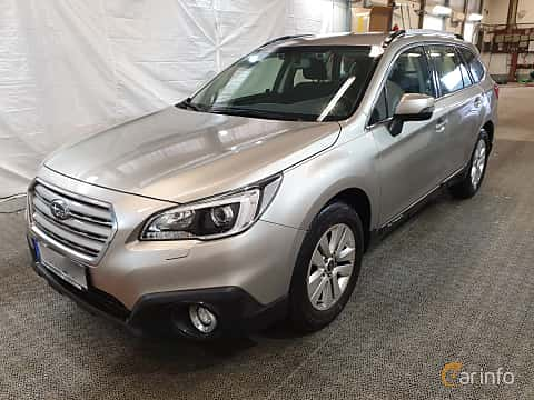 Front/Side  of Subaru Outback 2.5 4WD Lineartronic, 175ps, 2016