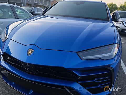 Fram/Sida av Lamborghini Urus 4.0 V8 AWD Automatic, 650ps, 2019