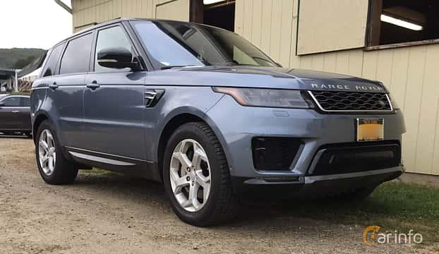 Fram/Sida av Land Rover Range Rover Sport 3.0 V6 4WD Automatic, 340ps, 2018