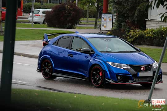 Front/Side  of Honda Civic Type R 2.0 VTEC Manual, 310ps, 2015