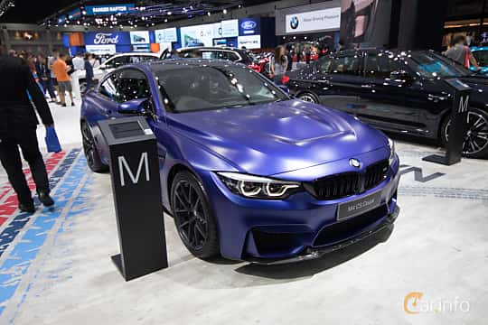 Front/Side  of BMW M4 CS  Drivelogic, 460ps, 2019 at Bangkok Motor Show 2019
