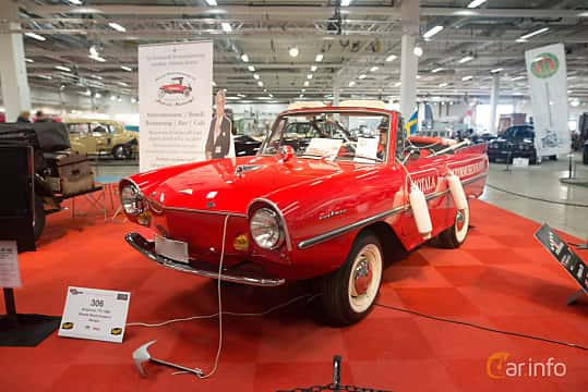 Front/Side  of Amphicar Amphicar 1.1 Manual, 39ps, 1968 at Bilsport Performance & Custom Motor Show 2018