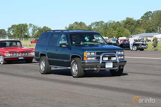 Front/Side  of Chevrolet Tahoe 4-door 1995 at Lidköping Power Big Meet  2019