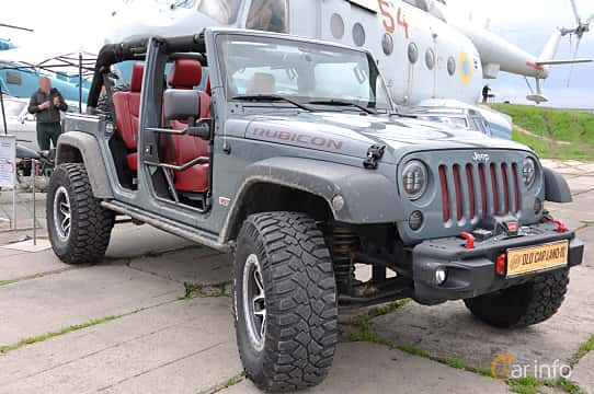 Front/Side  of Jeep Wrangler Unlimited 3.8 V6 4WD Automatic, 199ps, 2011 at Old Car Land no.1 2019