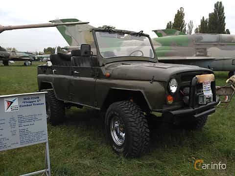 Front/Side  of UAZ UAZ-469 2.5 4WD Manual, 75ps, 1985 at Old Car Land no.2 2017