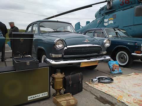 Front/Side  of GAZ GAZ M-21 Volga 2.4 Manual, 76ps, 1964 at Old Car Land no.2 2017