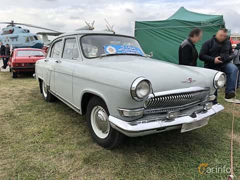 Front/Side  of GAZ 21 1962 at Old Car Land no.2 2019