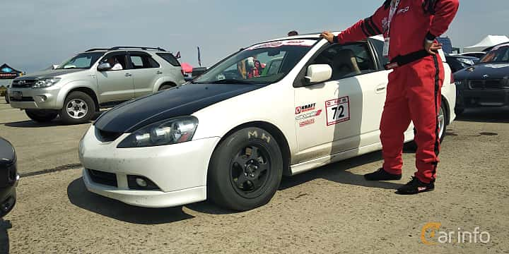 Front/Side  of Acura RSX Type-S 2.0 Manual, 210ps, 2005 at Proudrs Drag racing Poltava 2019